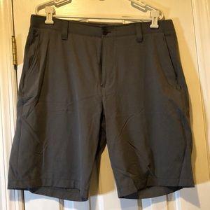 Under Armour Grey Golf Shorts